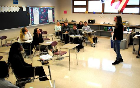 "Spring-Ford teacher Desiree Keppler teaches the first-year course ""Strategies for College Success,"" which helps students prepare for life on a college campus."