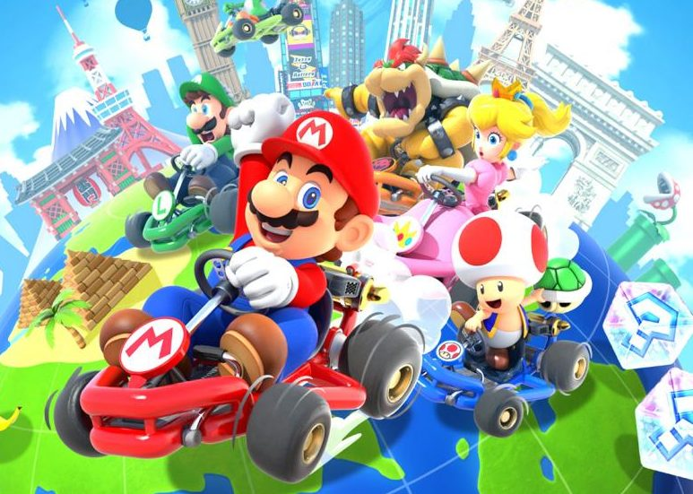 """Nintendo launched """"Mario Kart Tour"""" as a mobile application on Sept. 25."""