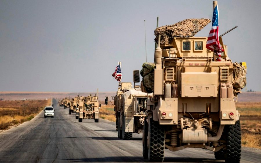 President Donald Trump announced recently he intended to withdraw United States troops from Northern Syria.