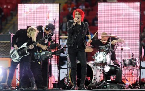 My Chemical Romance returns to stage