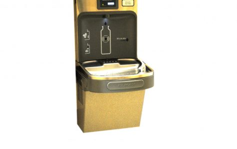 The water-filling stations installed at Spring-Ford are good for the environment.