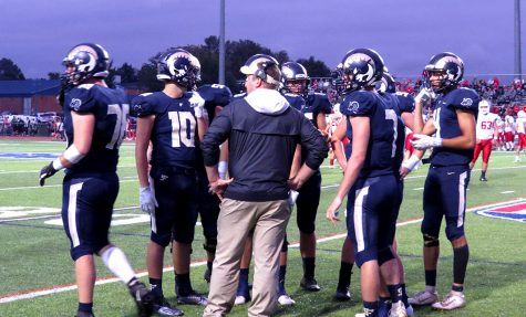 Spring-Ford football coach Chad Brubaker speaks with his team during a game last fall. The PIAA approved return-to-play guidelines for this fall on July 27.