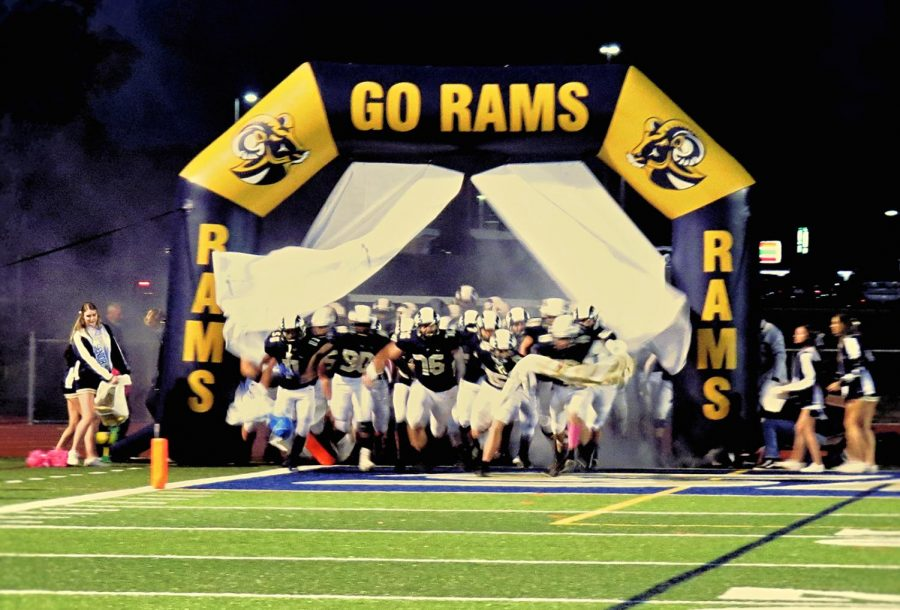 The Spring-Ford football team takes the field before their 55-0 victory over Upper Perkiomen on Friday, Oct. 9.