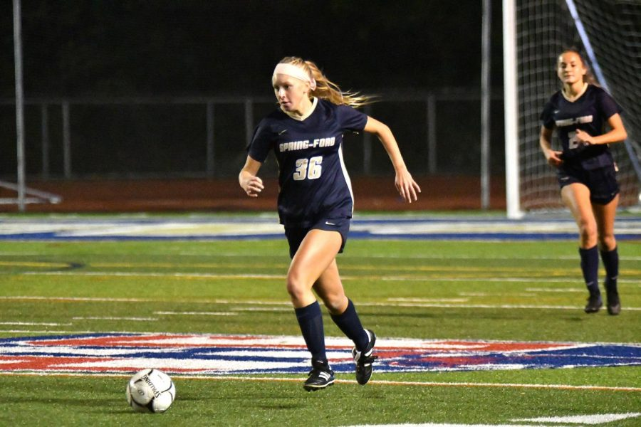 Spring-Ford's girls soccer team netted a PAC championship and victories in the district playoffs this year, only ending their season to eventual state champion Pennridge.