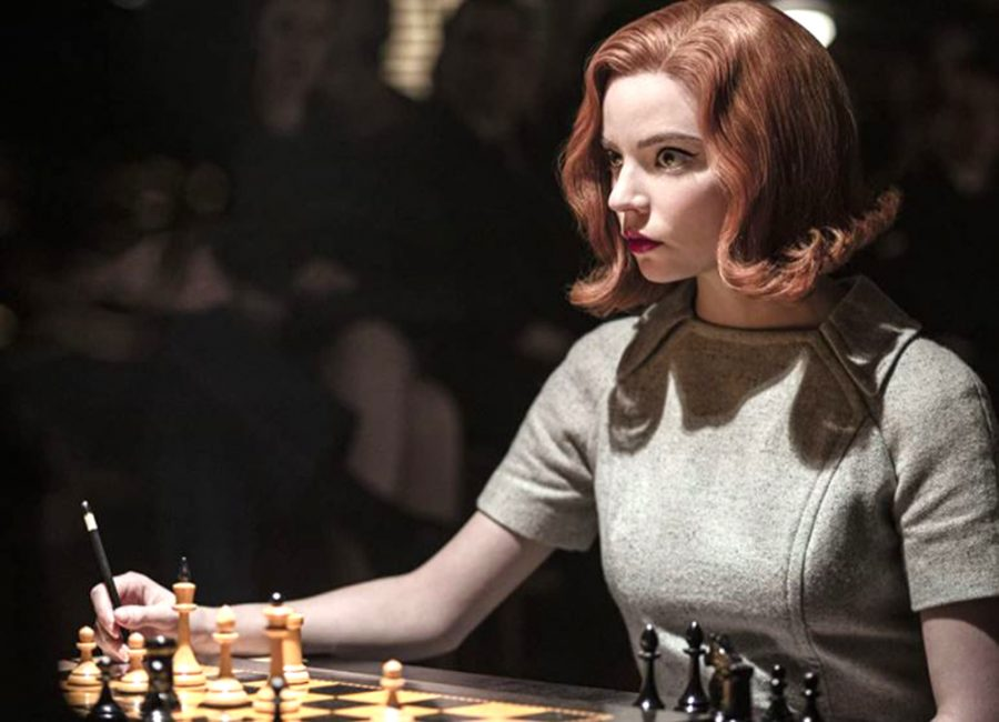 Anya Taylor-Joy stars as chess prodigy Beth Harmon in the Netflix series