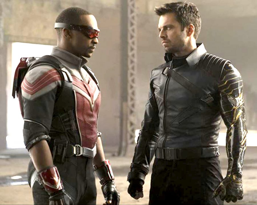 """Anthony Mackie and Sebastian Stan star in the new Disney+ series """"The Falcon and the Winter Soldier."""""""